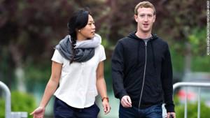 zuckerberg wife